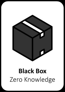 Black box pentesten hacker organisatie applicaties beveiliging informatie