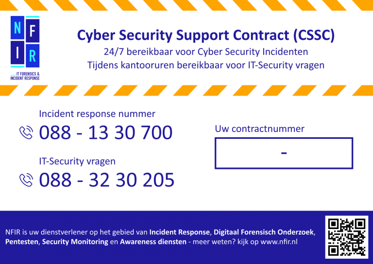 Incident Response, Cyber security incident response, nfir, cyber security specialisten